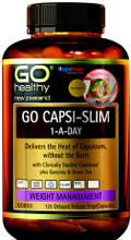 Contains the Clinically Researched Ingredient Capsimax® plus Garcinia and Green Tea