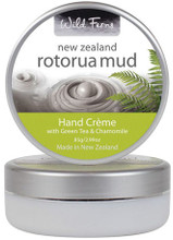 Contains geothermal mud from Rotorua blended with Green Tea and Chamomile
