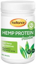Contains 100% raw, finely milled New Zealand grown Hemp Seed