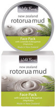 Contains Pure, Mineral Rich Geothermal Mud from Rotorua, Blended with Lavender and Bergamot