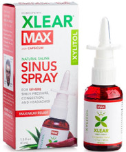 Contains Purified water, Xylitol, Capsicum Annum 8X, Aloe Vera, Sodium Chloride, Grapefruit Seed Extract and Capsicum Oleoresin to help releive Sinus Pressure, Allergies and Congestion