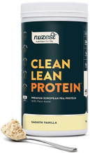 Contains Premium European Golden Pea Protein, Free from Gluten, Dairy, Soy and GMOs