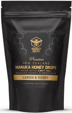 Packed with Premium Manuka Honey, Natural Lemon Oil, Propolis, Echinacea and a Soothing Mild Menthol