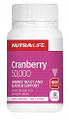Nutra-Life Cranberry 50,000 helps prevent bacterial-based lower urinary tract discomfort.