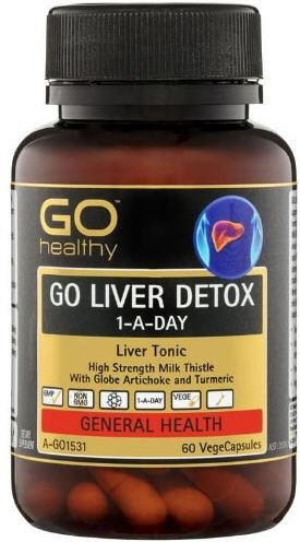 Go Healthy Go Liver Detox Vegecapsules 60