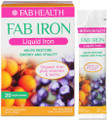 Gentle, Easy-to-Absorb, Great-Tasting Liquid Iron with Energy Boosting B Group Vitamins and Herbal Extracts, to Help Restore Overall Health