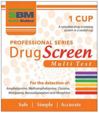 Provides rapid qualitative detection of drugs of abuse and their principle metabolites in urine at specified cutoff concentrations