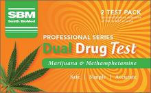 Provides Simultaneous Detection of Marijuana and Methamphetamine (P) in Urine