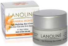 Age-Defying Eye Creme with Manuka Honey, Vitamin E & Plant Extracts - Revitalizes and Supports the Regenerative Process of the Skin