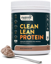 Contains Premium European Golden Pea Protein, Rich Chocolate Flavour, Free from Gluten, Dairy, Soy and GMOs
