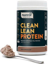 Contains Premium European Golden Pea Protein, Free from Gluten, Dairy, Soy and GMOs - Rich Chocolate Flavour