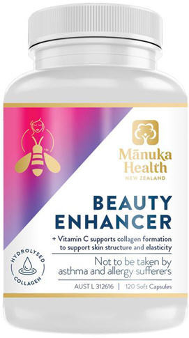 Manuka Health Beauty Enhancer Softgel Capsules 120