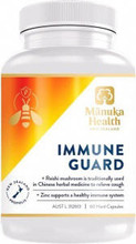 Contains New Zealand Bee Propolis, Reishi Mushroom and Zinc, for Everyday Immune Support