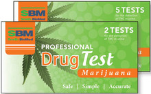 Provides 2 Single Tests for the Detection of Marijuana
