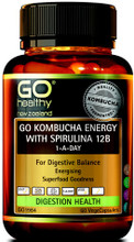 Contains Kombucha and Probiotics, Combined with Energising Ingredients Spirulina and Maca for Everyday Health and Vitality