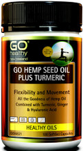 Contains Hemp Seed Oil Plus Turmeric Providing a Balanced Source of Omegas 3, 6 and 9, with Ginger and Hyaluronic Acid to Support Joint Health and Comfort, Joint Lubrication, Flexibility and Movement