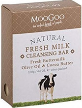 Cleansing Bar, with Fresh Cow's Milk Saponified with Cocoa Seed Butter and Olive Oil