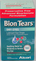 Bion Tears Lubricant Eye Drops is an advanced preservative free, bicarbonate based formulation.