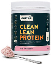 Contains Premium European Golden Pea Protein with Delicious Wild Strawberry Flavour, to Support an Active Lifestyle and Good Nutrition