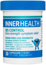 Each capsule contains 32 Billion Live Bacteria: Lactobacillus plantarum 299v, Lactobacillus acidophilus (NCFM®), and Bifidobacterium animalis ssp lactis (HN019™) Formulated to Provide Extra Symptom Relief for Bowel Health, Gut Pain, Discomfort and Intestinal Gas and Bloating