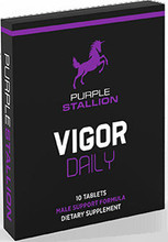 Purple Stallion is a dietary supplement that provides support for healthy male sexual function.