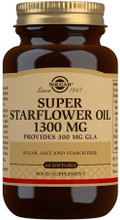 Contains Starflower Oil, a Natural Vegetable Seed Oil Rich in Essential Fatty Acids, Providing 300mg GLA per Capsule