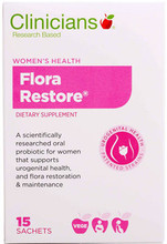 Contains a Unique Oral Probiotic, Providing 2 strains Lactobacillus rhamnosus GR-1 ™ and Lactobacillus reuteri RC-14™, Scientifically Designed to Support Normal Vaginal Flora and Urinary Health