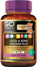 Contains natural Calcium sourced from seaweed, plus Vitamin D3 and Vitamin K2, providing the perfect combination to ensure bones stay strong and healthy