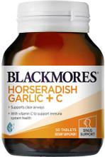 Powerful Formula with Horseradish, Fenugreek, Garlic +Vitamin C to Support Clear Sinuses