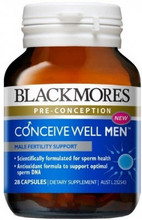 Provides an advanced combination of nutrients based on the science of male reproductive health including Coenzyme Q10 which plays a role in sperm cell energy production and motility.