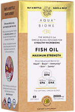 Aqua Biome™ Fish Oil provides the ideal ratio of DHA, EPA and DPA shown by advancing research to enhance the microbiome