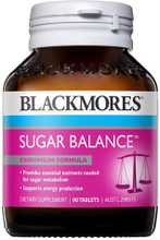 Contains chromium, an essential nutrient for sugar metabolism, plus zinc and magnesium which also help sugar metabolism