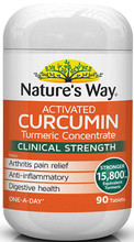 Specially formulated to contain the active compound found in Turmeric, called Curcumin