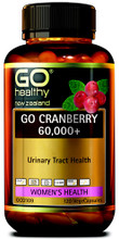 Provides a Combination of Cranberry Extract Alongside Synergistic Herbal Extracts and Nutrients to Support Urinary Tract and Bladder Health