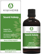 Contains Withania and Passionflower and NZ-grown Skullcap, traditionally used in Western herbal medicine to assist falling asleep faster, relieve sleeplessness, and support the nervous system for a healthy sleep.