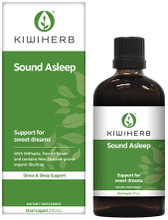 Contains Withania and Passionflower and NZ-grown Skullcap, traditionally used in Western herbal medicine to assist falling asleep faster, relieve sleeplessness, and support the nervous system for a healthy sleep