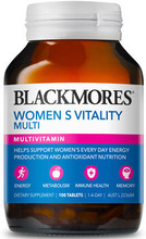 Contains a wide range of nutrients  to support daily energy and wellbeing, with additional ingredients specially selected to support women's vitality to ensure you get the most out of your busy day