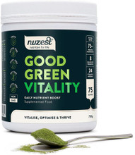 Contains 75+ ingredients, 24 Vitamins and Minerals, 20 Plant Foods and 8BN Probiotics