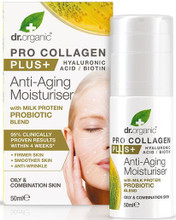 Pro Collagen Plus Anti-Aging Moisturiser With Milk Protein Probiotic Blend Contains Bioactive, Natural and Organic Ingredients