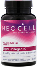Contains Collagen Types 1 & 3, Sourced from Bovine Plus Vitamin C