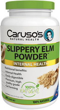 Contains 100% Slippery Elm Powder