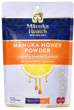 Contains patented Manuka honey powder that uses advanced freeze drying technology to protect, retain and encapsulate the unique natural properties of Manuka honey for sustained delivery in the body