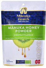 Contains a Delicious Combination of Pure New Zealand MGO100+ Manuka Honey with the Fresh and Fruity Flavour of Kiwifruit PLUS New Zealand Natural Kiwifruit Extract Digesten® and Gut-Friendly Prebiotics for a Naturally Functional Beverage
