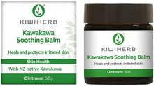 Contains Kawakawa Leaf, Beeswax, Black Pepper Fruit, Thyme Oil, Lavender Flower Oil and Olive Fruit Oil to Heal and Protect Irritated Skin