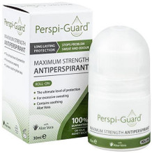 Antiperspirant Formula with Specific Ingredients including Aluminium Chlorohydrate and Aluminium Chloride for Excess Sweating, and Aloe Barbadensis, and Alcloxa for Soothing