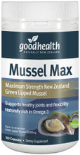Good Health Mussel Max is Harvested in the Marlborough Sounds of New Zealand, GlycOmega-PLUS™ is cold pressed using specially selected Green Mussels