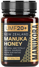 Manukora Manuka Honey UMF20+ is Certified to Have High Levels of Antibacterial Activity (UMF of Greater than 20) and May be Used for Wound Care or Stomach Disorders