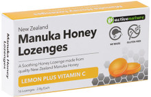 Made from Quality New Zealand Manuka Honey, with Lemon Concentrate and Vitamin C