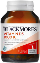 Contains Cholecalciferol 1000 IU per Capsule to Support Calcium Absorption and Utilisation, Helping to Maintain Strong Bones