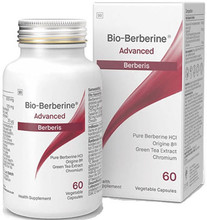 Contains Pure Berberine hydrochloride, Origine 8® – a Highly Bioavailable Green Tea Extract, and Chromium